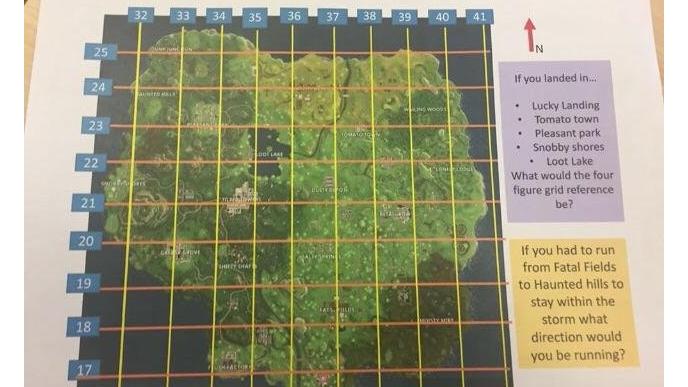teachers are using fortnite as a teaching tool - fortnite map season 8 with grid