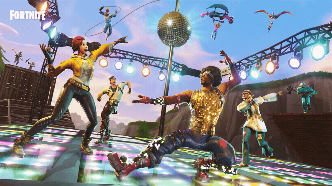 Fortnite Lets You Get Your Groove On In A New Disco Domination