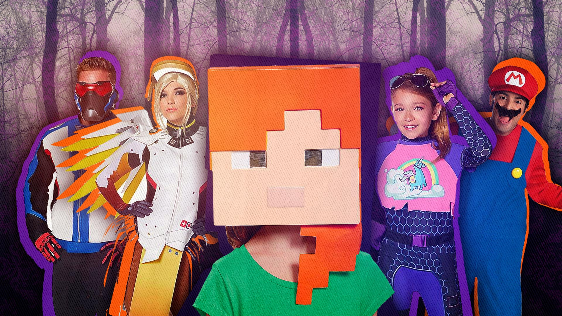 Halloween Video Game Costumes.Superparent S Video Game Halloween Costume Guide Superparent