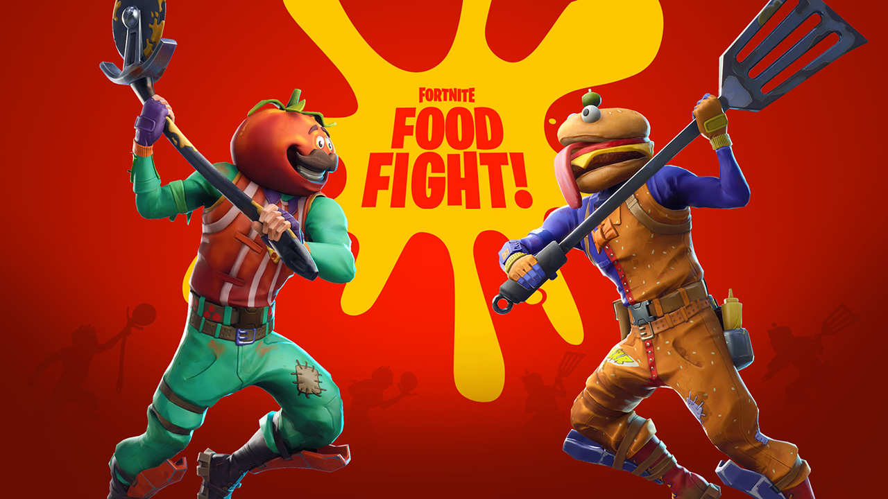 Fortnite Food Fight Is A Delicious Battle Between Burgers And