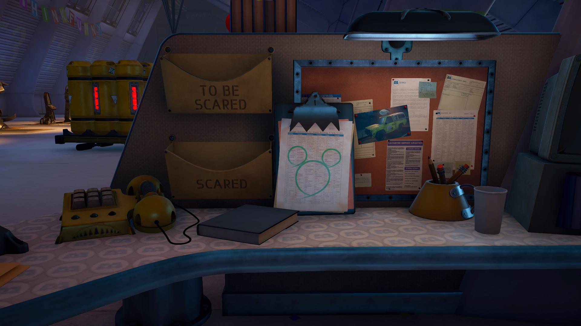 Kingdom Hearts 3: Monstropolis Lucky Emblem Locations
