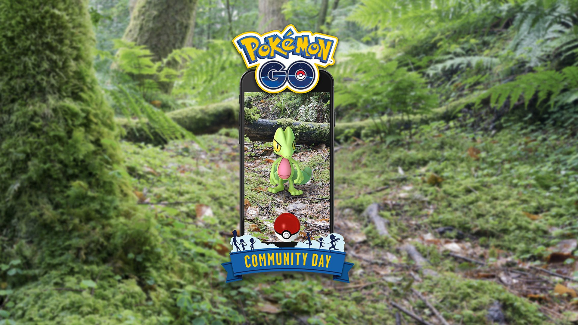 Pokemon Go March 2019 Community Day: Collect a Sceptile With Frenzy