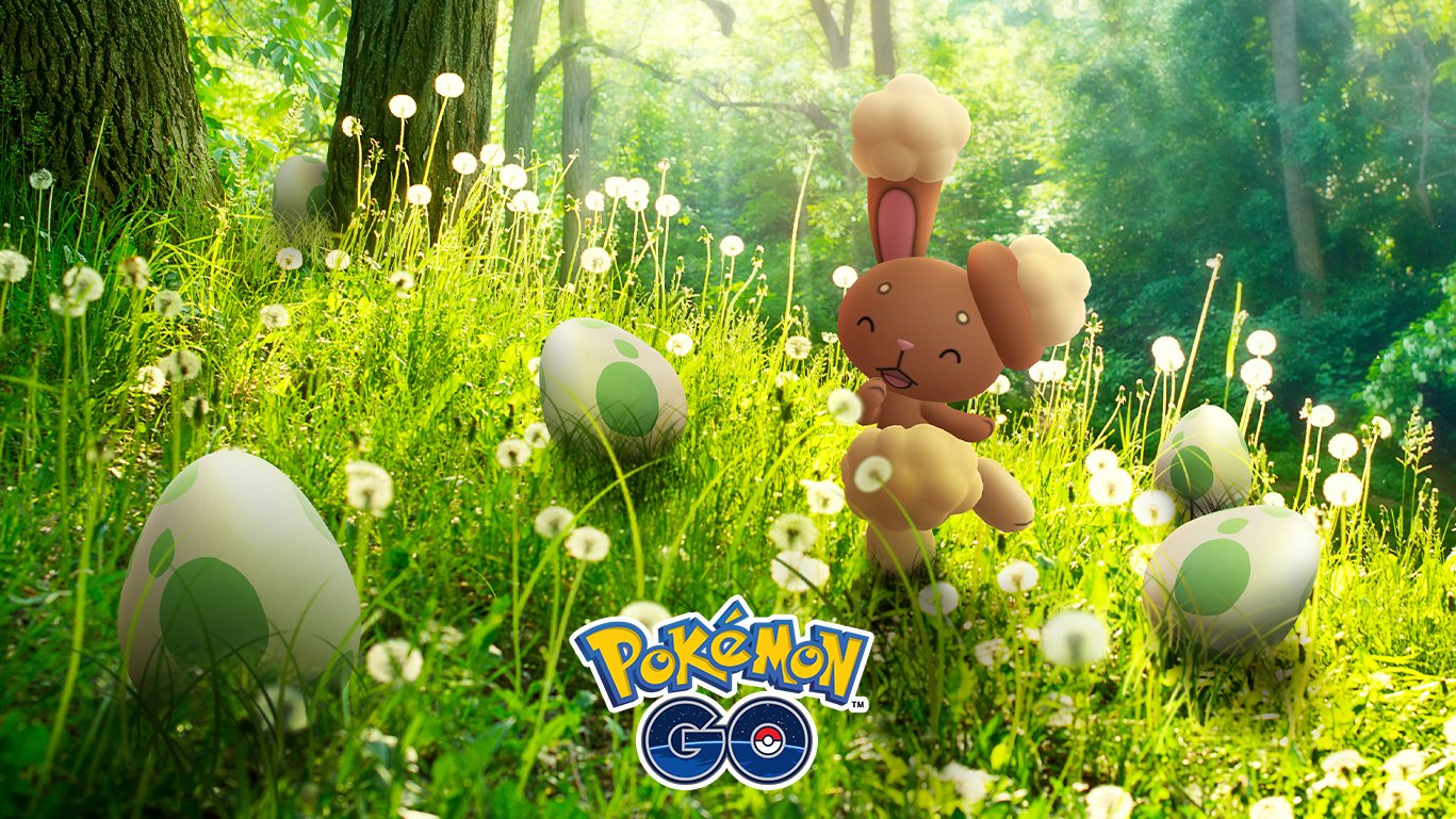 All 58 Eggs Collected Roblox Egg Hunt 2019 Pokemon Go Eggstravaganza 2019 Shiny Buneary Stars In This Egg Themed Event Superparent