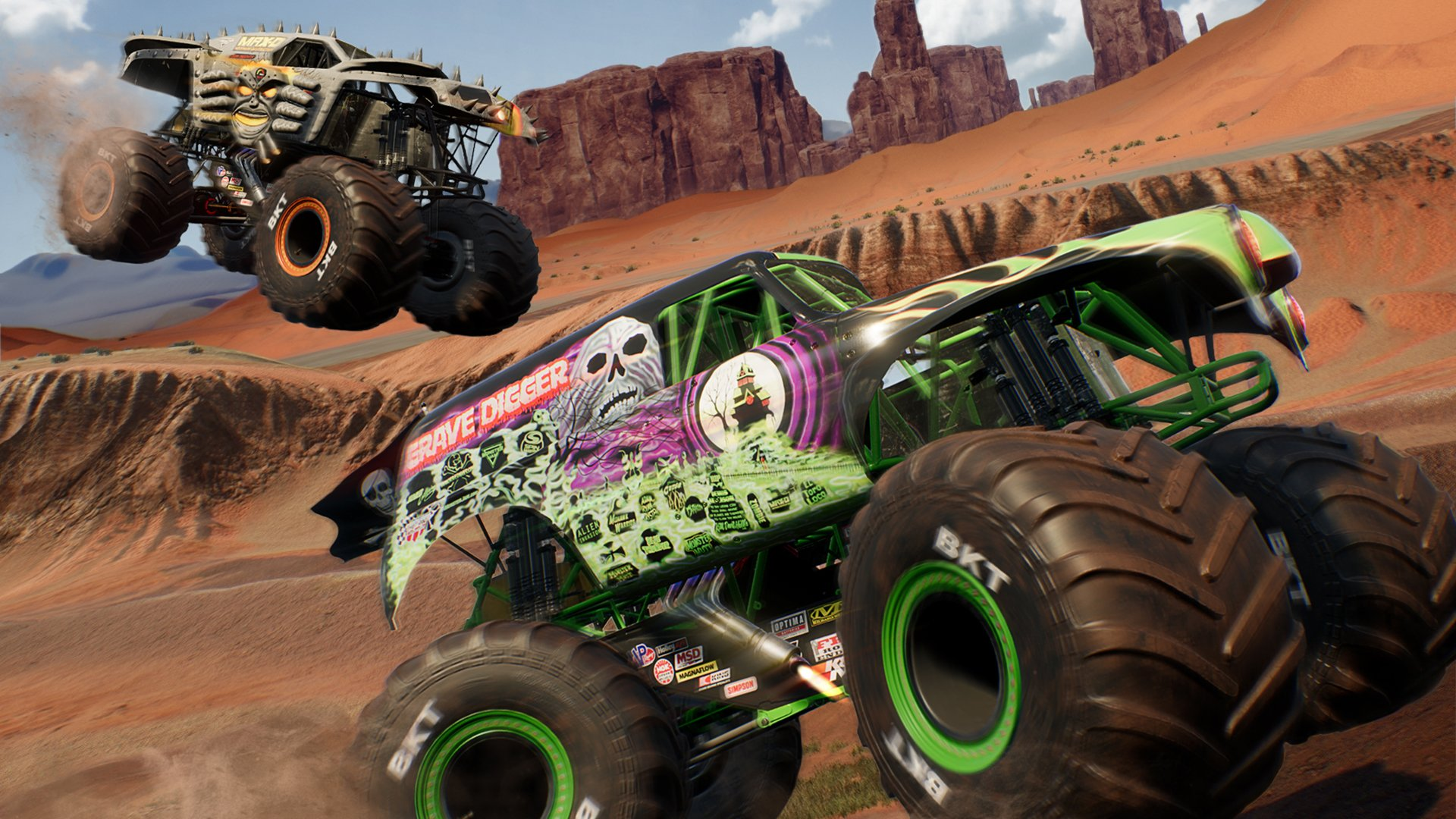 Drive The World In Monster Jam Steel Titans Sponsored Superparent
