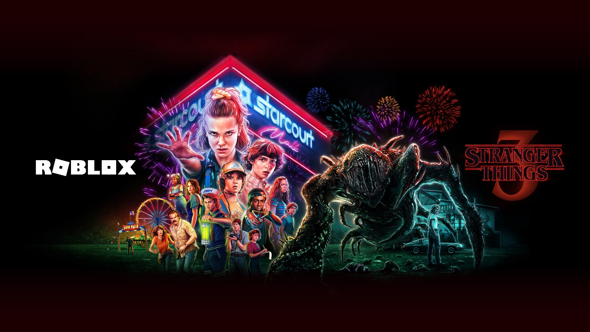 Roblox Celebrates Stranger Things 3 With Special In-Game Items