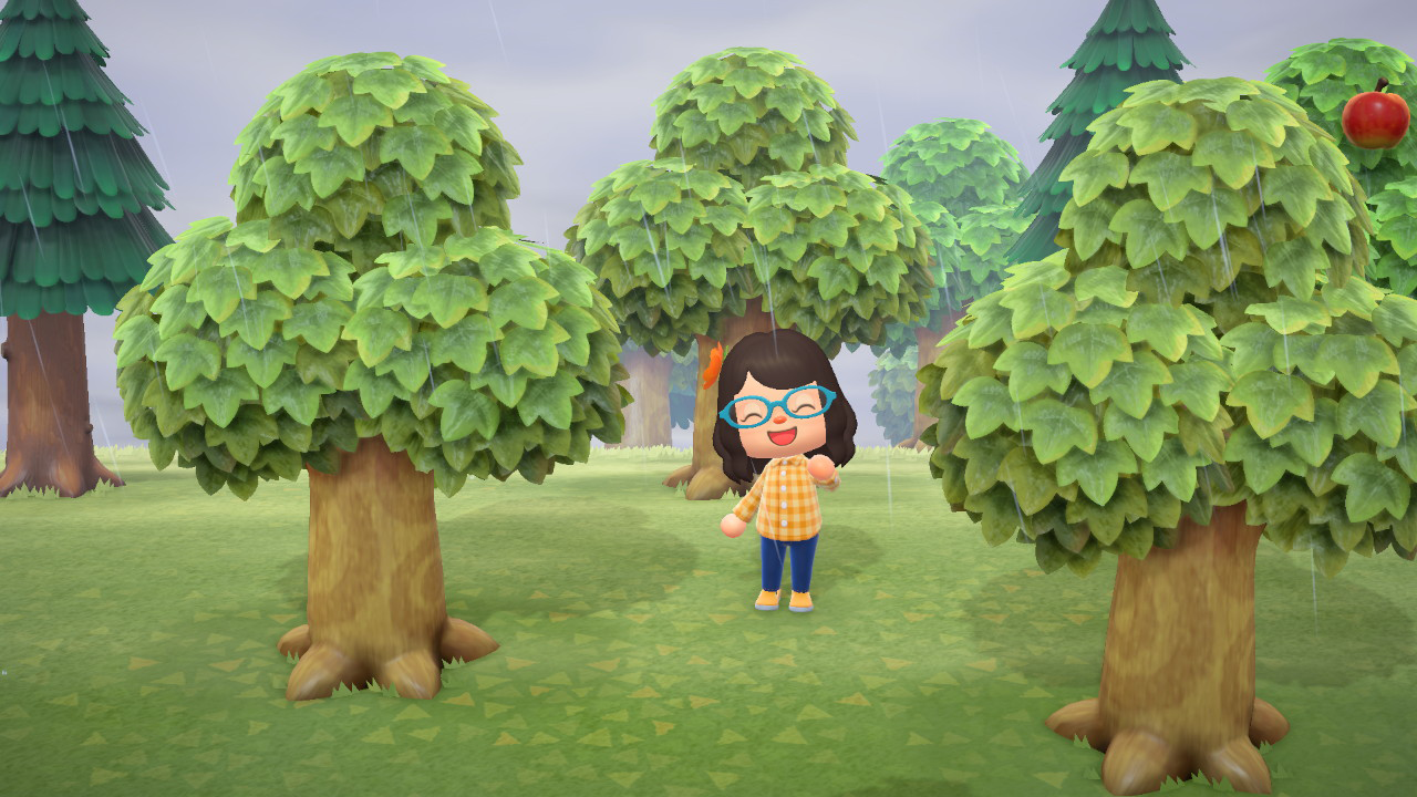 Animal Crossing New Horizons How To Move A Tree Superparent