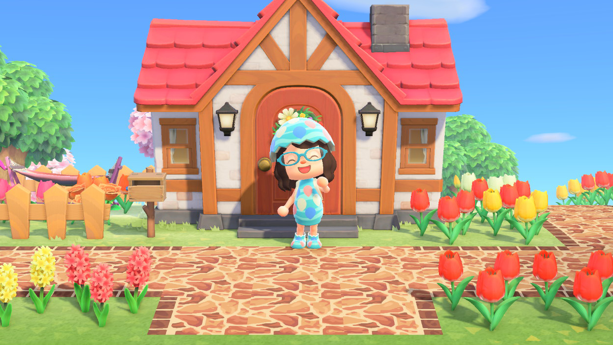 Animal Crossing New Horizons How To Change The Look Of Your House Superparent