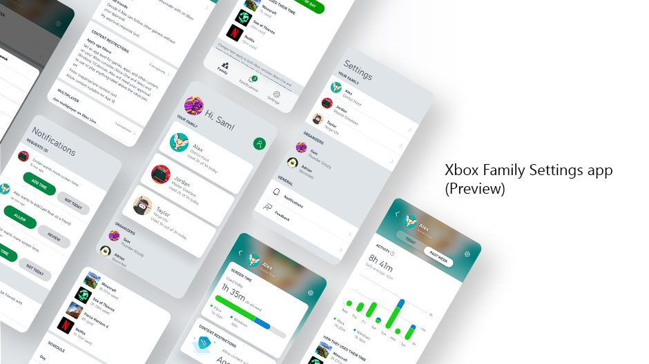 Xbox Family Settings Mobile App Control Your Kids Screen Time