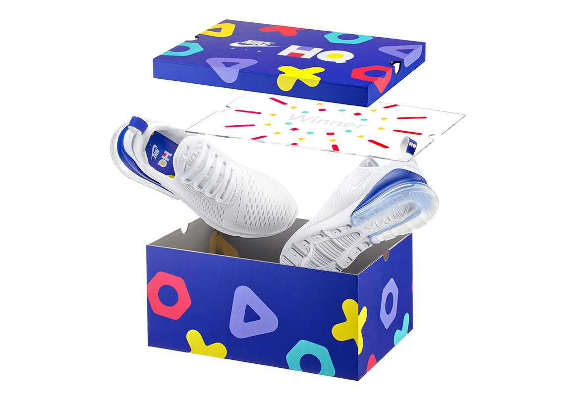 Nike's limited edition HQ Trivia Sneakers