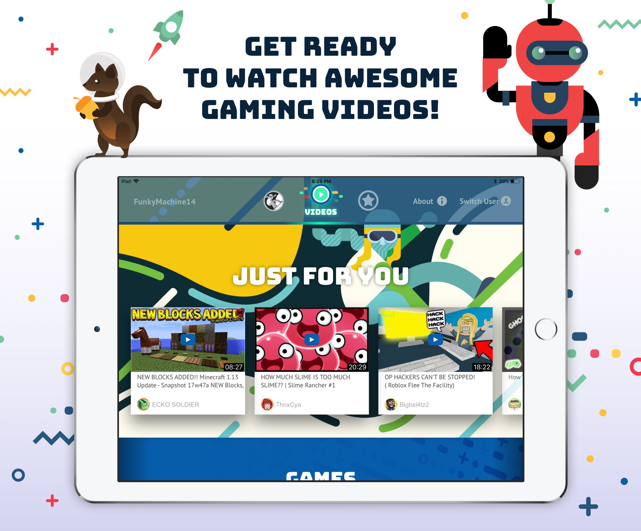 Tankee Lets Kids Watch Minecraft, Roblox Videos in a Worry