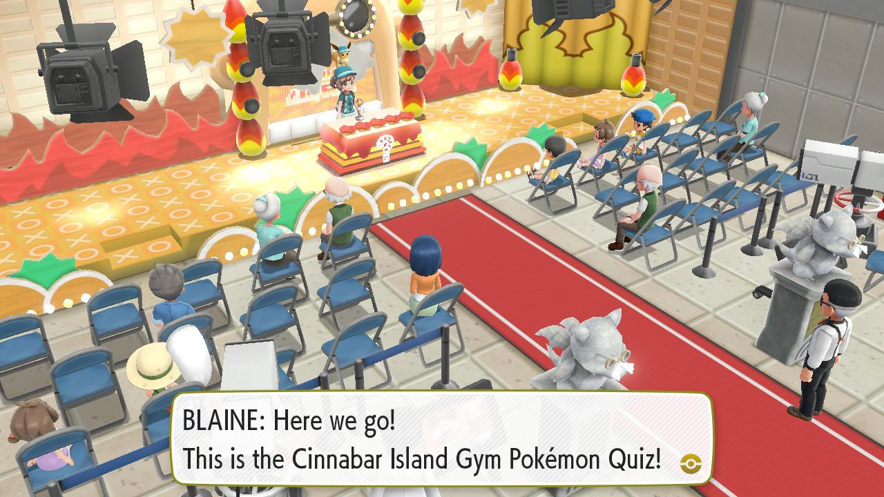 All Blaine Gym Answers in Pokemon: Let's Go | SuperParent