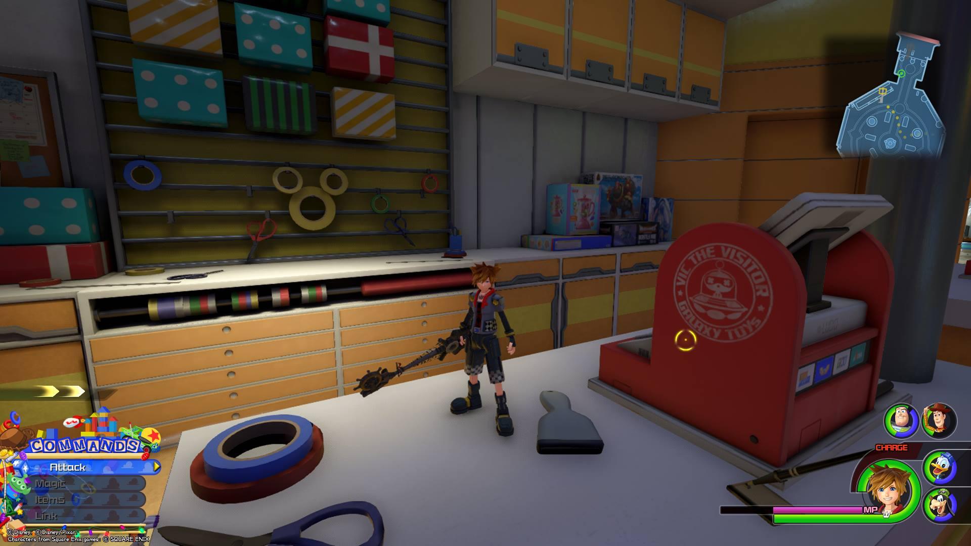 Kingdom Hearts 3 Toy Box Lucky Emblem Locations Superparent