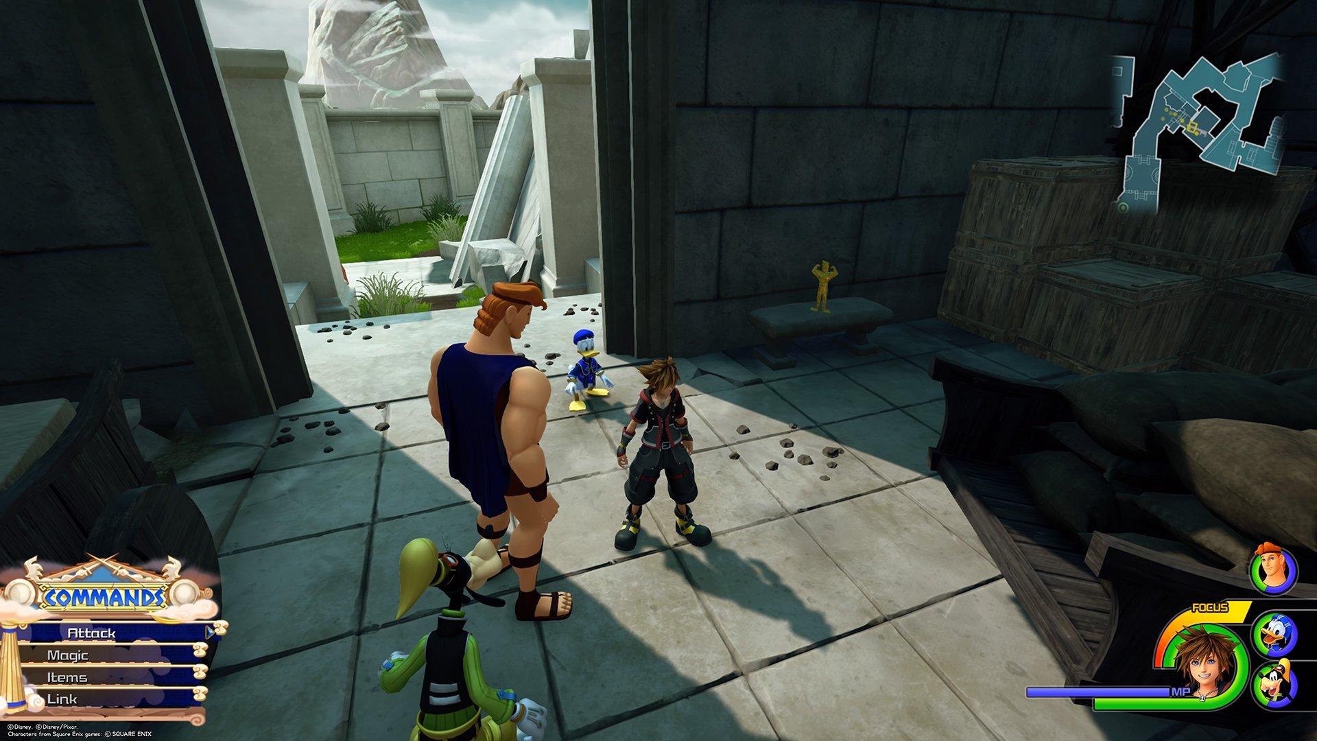 Kingdom Hearts 3: Golden Herc Figure Locations | SuperParent