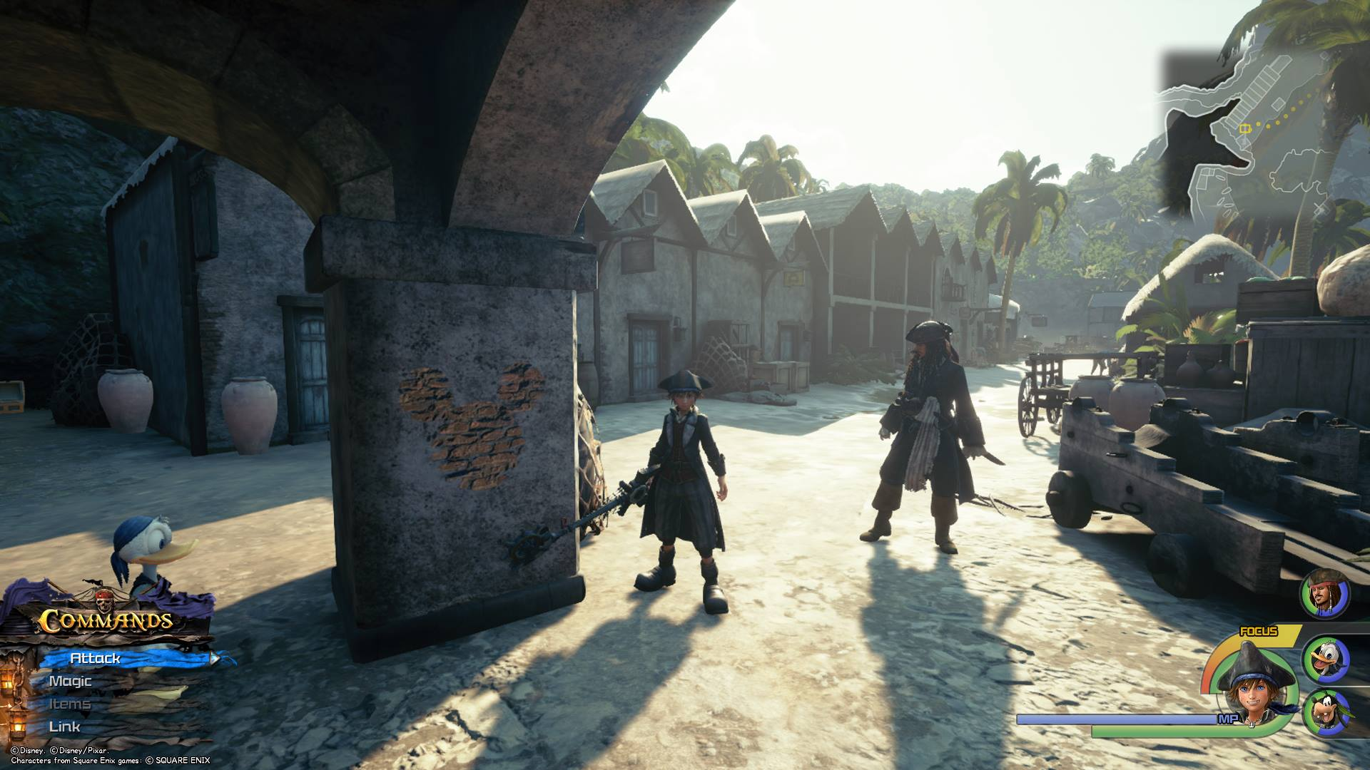 Kingdom Hearts 3 The Caribbean Lucky Emblem Locations Superparent