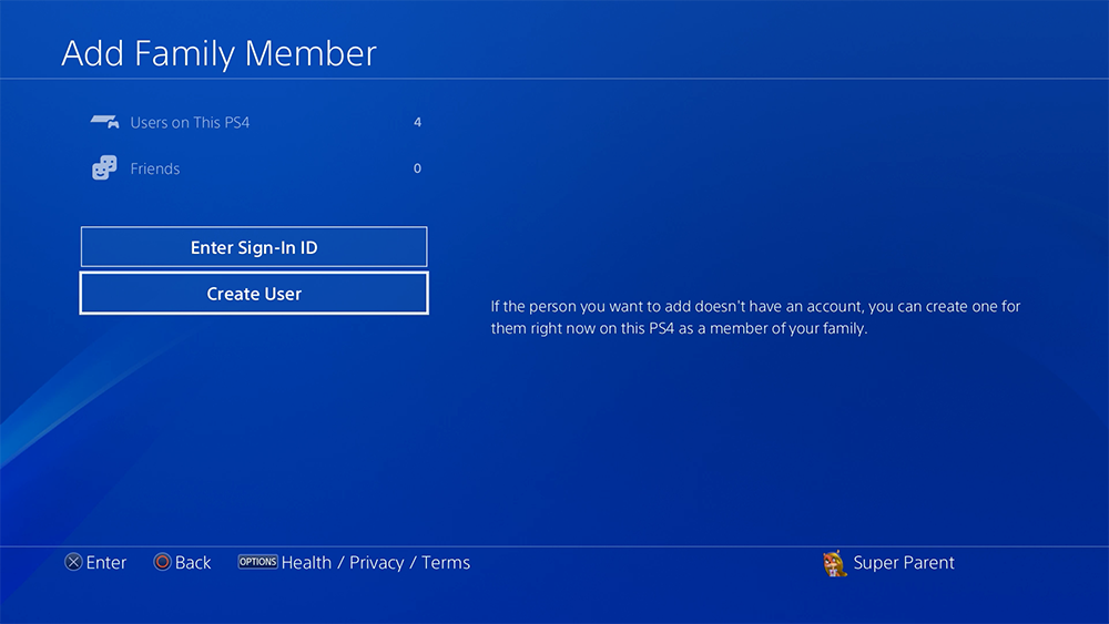 How To Set Up Playstation 4 Child Account And Parental Controls