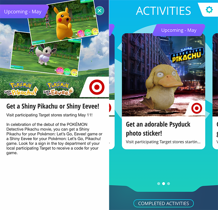 Pokemon Pass App Offers Shiny Pikachu Or Eevee To Let S Go Players