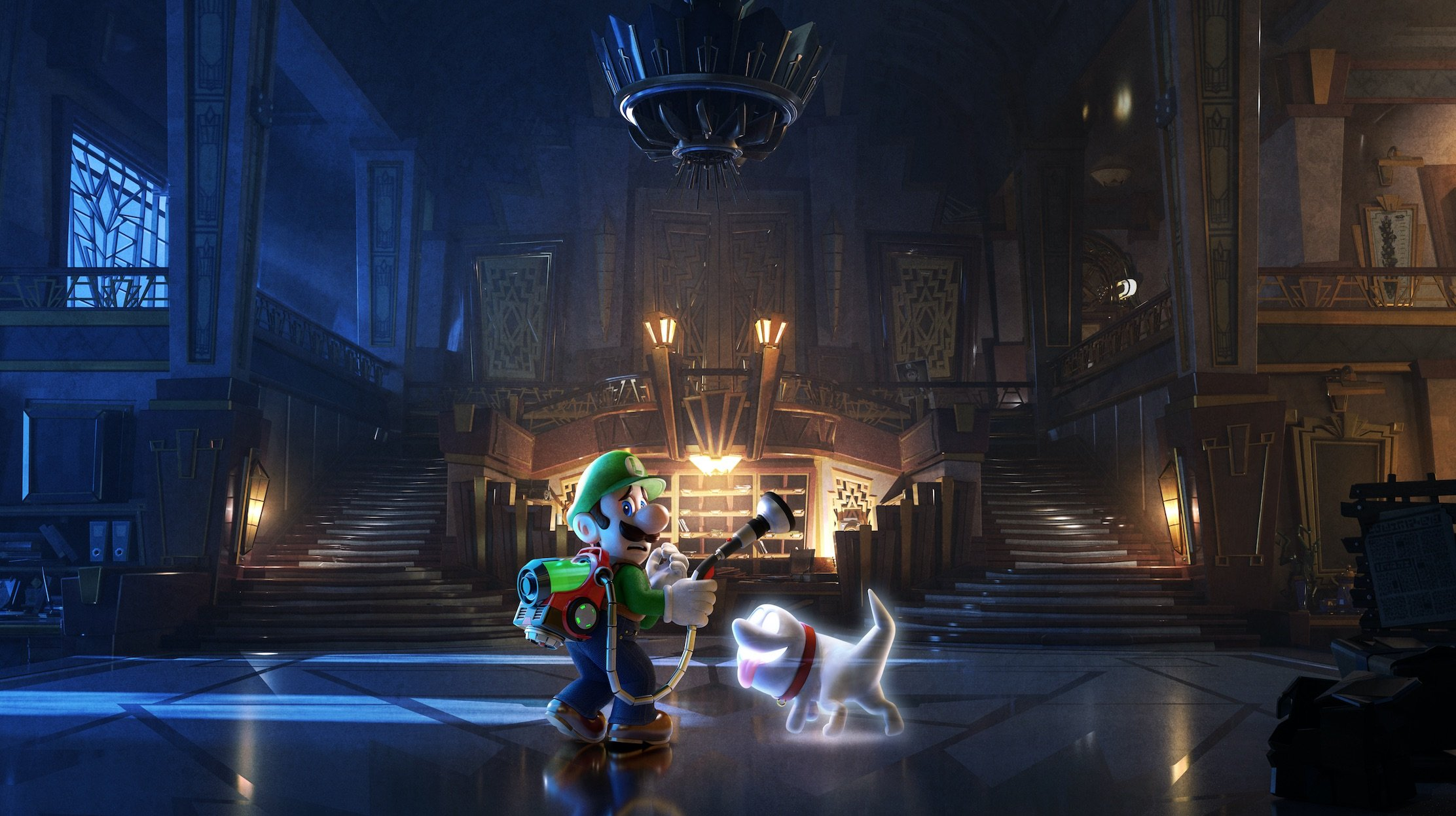 Can't wait to play Luigi's Mansion 3 on the Switch!