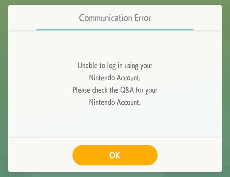 Pokemon Home Is Unfortunately Crashing Or Giving People Communication Errors Superparent