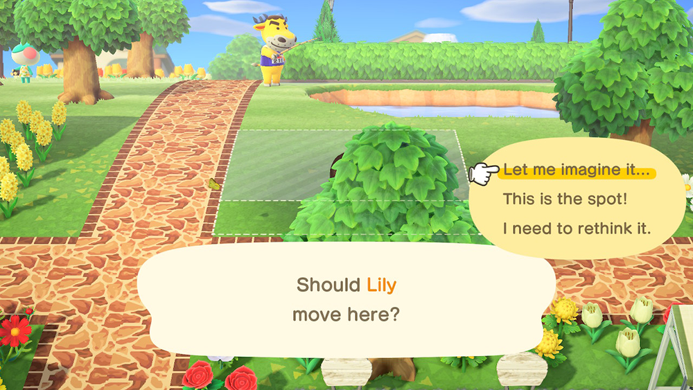 Animal Crossing New Horizons How To Move A Villager S House