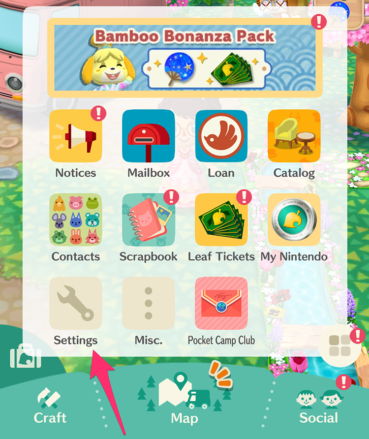 Animal Crossing Pocket Camp: How to Change Your Character ...