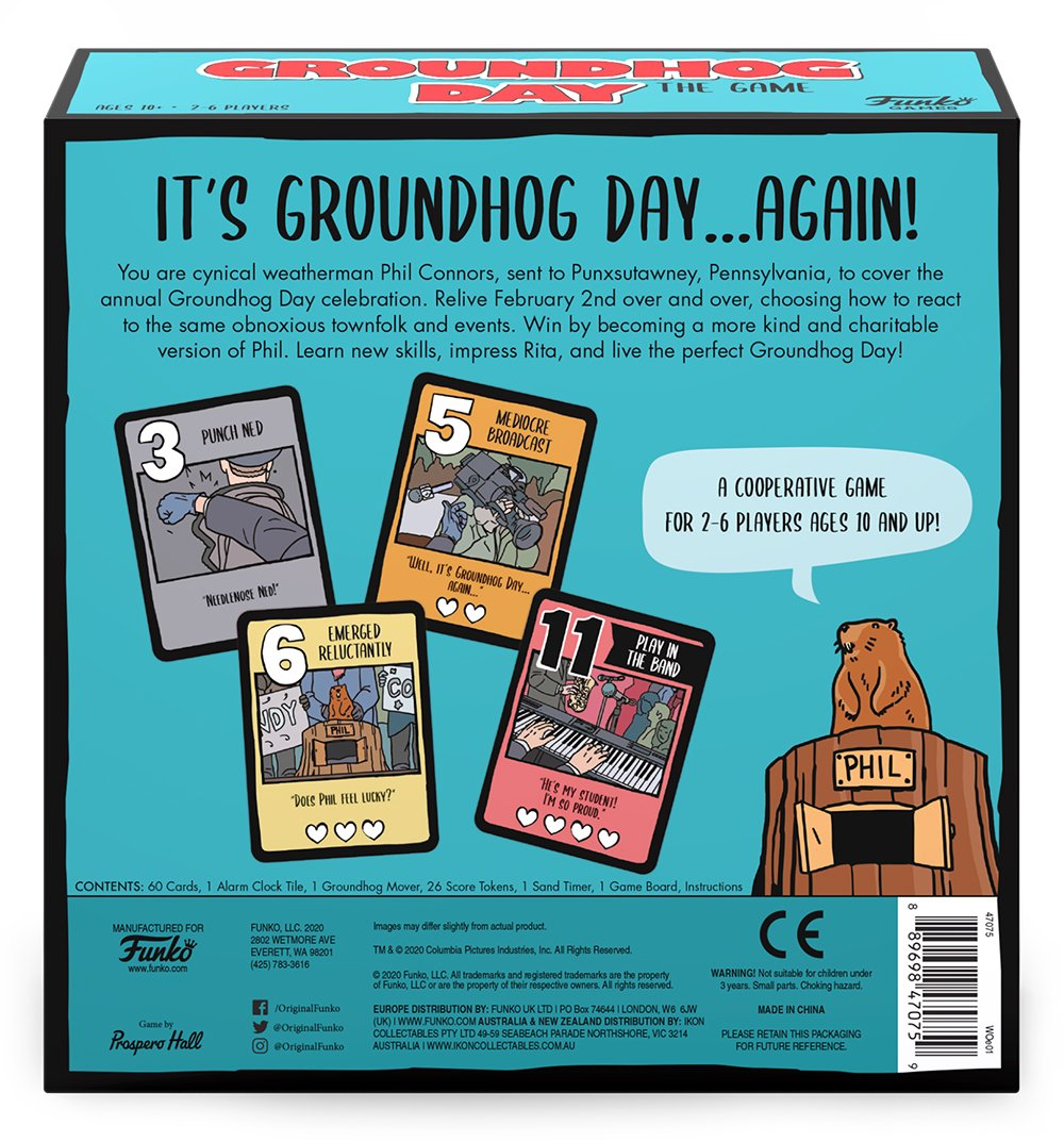 Groundhog Day The Game Review   SuperParent